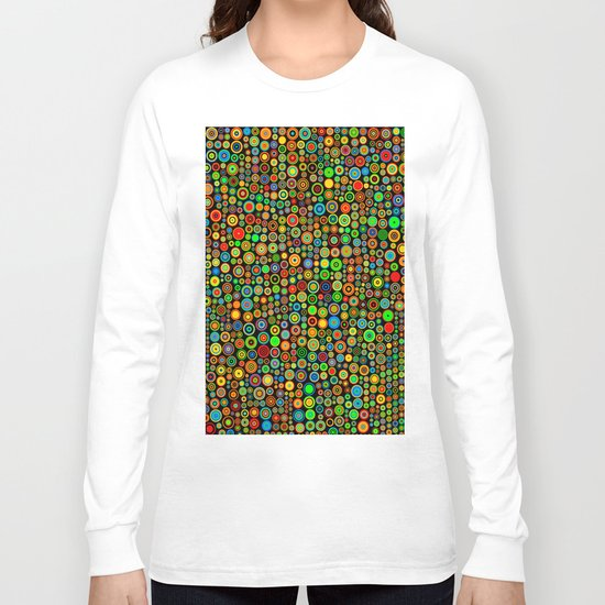 Colorful dots Long Sleeve T-shirt