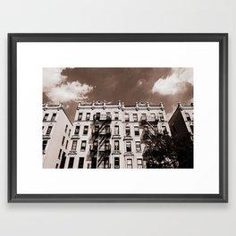 Bronx Buildings, New York City Framed Art Print