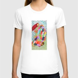 Quilted Like Klimt T-shirt
