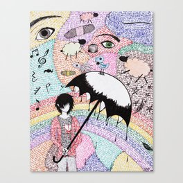 A Word is Worth 1000 pictures. Canvas Print
