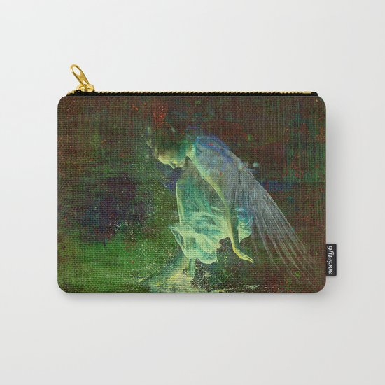 The reflection of the angel Carry-All Pouch