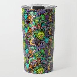 Lovecraft Chibi Bestiary II Crowded ver Travel Mug