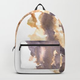 Soft Texture Watercolor | [Grief] The Collapse Backpack
