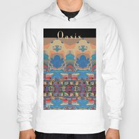 oasis Hoodies featuring Oasis by Jim Pavelle