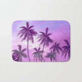 Palm Trees 3 Bath Mat