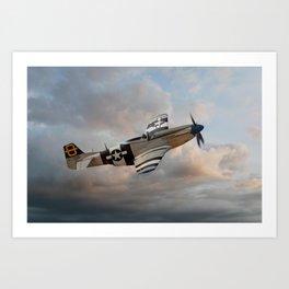 Jumpin Jacques - P51 Mustang Art Print