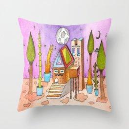 Dream House 1 Throw Pillow