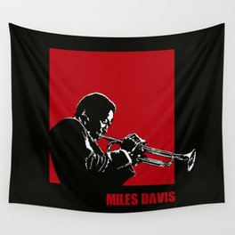 MILES / DAVIS [A Kind of Red][by felixx / 2016] Wall Tapestry