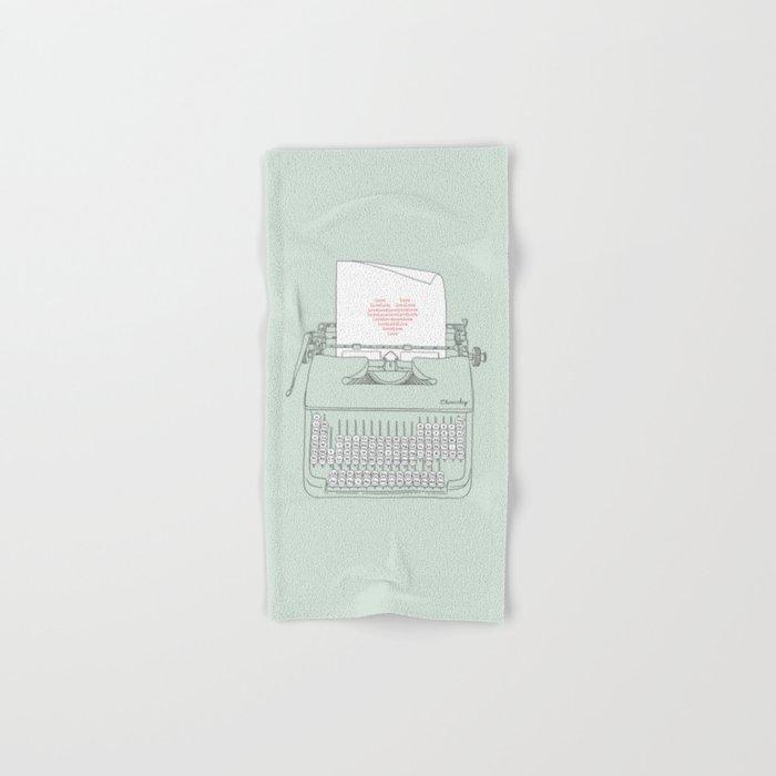 The Chemistry of Love Hand & Bath Towel