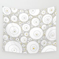 eggs Wall Tapestries featuring Eggs by Alisa Galitsyna