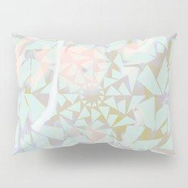 Opal Shattered Glass Pillow Sham