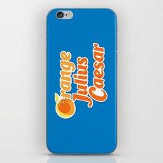 Orange Julius Caesar iPhone & iPod Skin