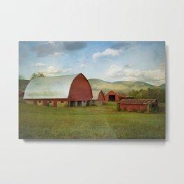 Wartburg Barns Metal Print