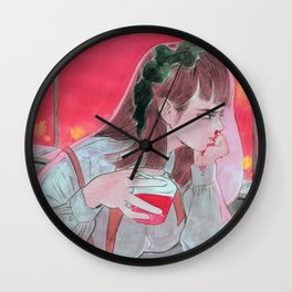 Moment of Hate Wall Clock
