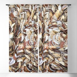 Scallop Shells Blackout Curtain