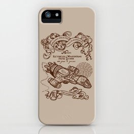 The Smuggler's Map iPhone Case