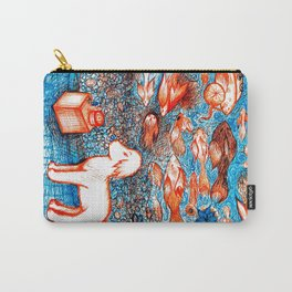 Suki by the Koi Pond Carry-All Pouch