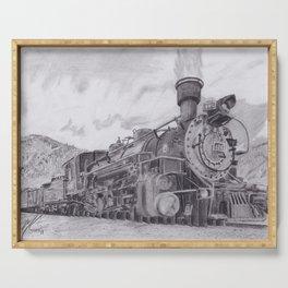 Durango and Silverton Steam Engine Serving Tray