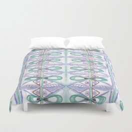 Loops all over Duvet Cover
