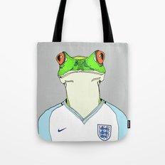 Football Frog Tote Bag