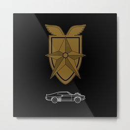 Interceptor Metal Print