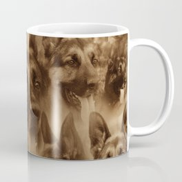 German Shepherd Dog collage Coffee Mug