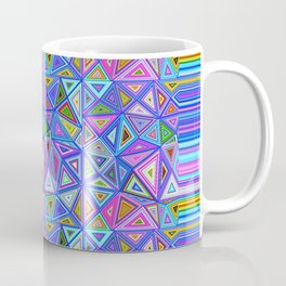Patchwork Triangles Coffee Mug