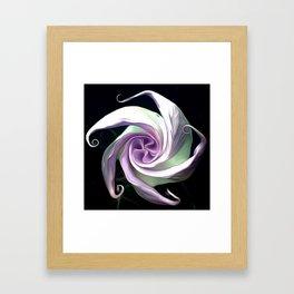 Ode to an Angel Trumpet  Framed Art Print