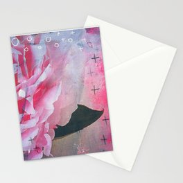 Pretty in Pink Peony Stationery Cards