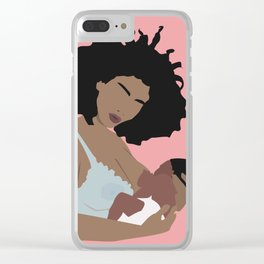 Somebody, not somebody's. Clear iPhone Case