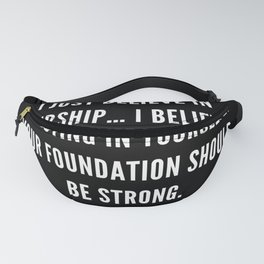 2 | Nipsey Hussle Quotes Fanny Pack