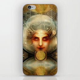 """Art Deco Retro The Chimera"" iPhone Skin"