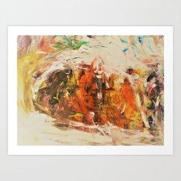 Birht Art Print