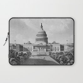 US Capitol Building Laptop Sleeve