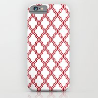 Red Moroccan iPhone 6s Slim Case