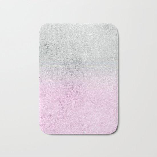 FADING CONCRETE PINK Bath Mat