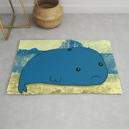 Why such a lonely beach? Rug