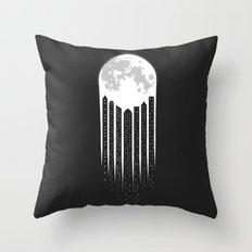 Moon-City Throw Pillow