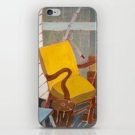 Yellow Chair iPhone Skin