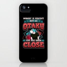 Funny Anime Kawaii Otaku Weeb Sayings Gifts iPhone Case