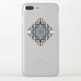 ʌnˈkʌmf(ə)təb(ə)l Clear iPhone Case