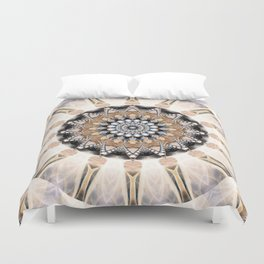 Mandala Purity Duvet Cover