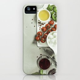 Italian antipasti snack for wine iPhone Case