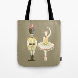nutcracker & sugarplum fairy Tote Bag