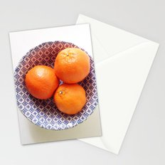 Three Oranges Stationery Cards