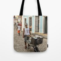dj Tote Bags featuring DJ by miloezger
