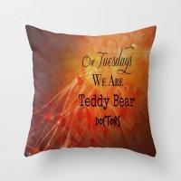 supernatural Throw Pillows featuring Supernatural  by Artist Gaya