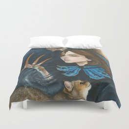 A Prince and His Puddums Duvet Cover