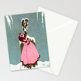 """""""The End of Romance"""" Deco Design Stationery Cards"""