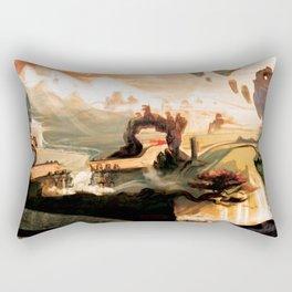 Fantastical Landscape Rectangular Pillow